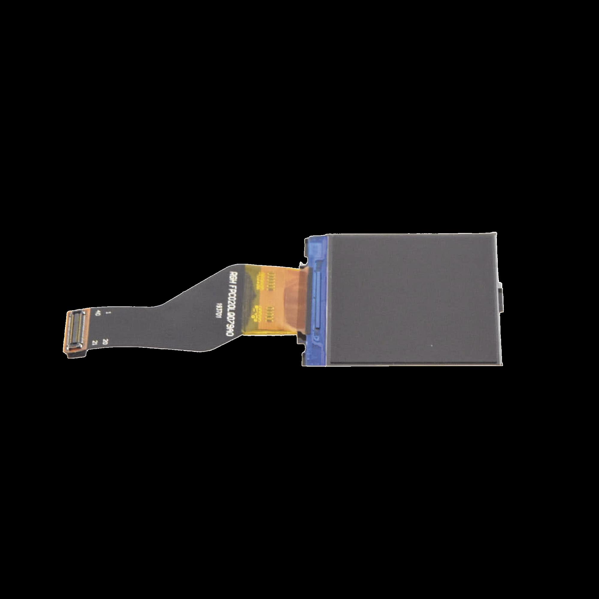 Pantalla LCD de reemplazo para BodyCam XMRX5, incluye protector.