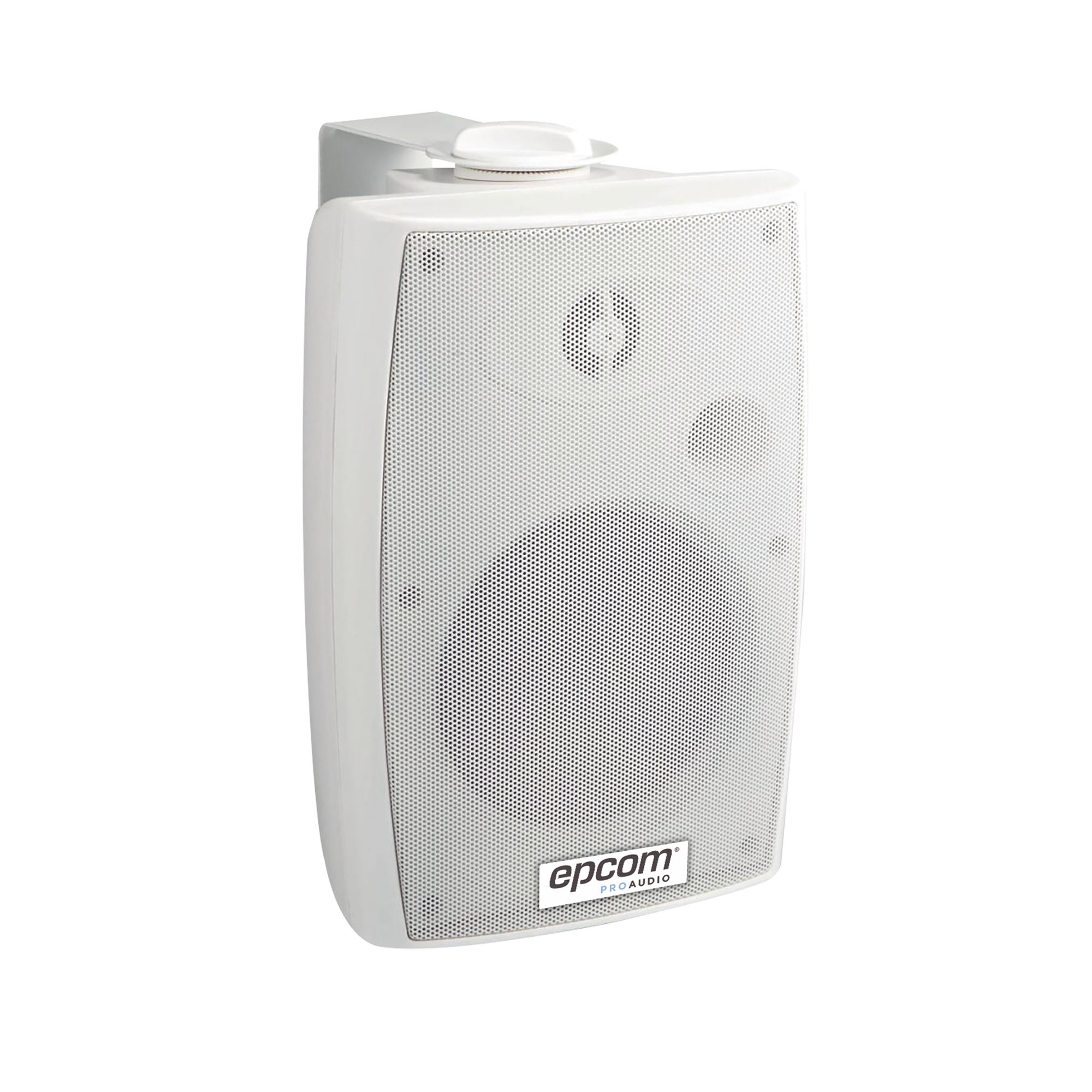 Altavoz de Montaje en Pared  4 + 1.5/ 2.5W-5W-10W-20W/ 100V+8ohm/ Material ABS/ Reja y Bracket de Metal/ Color Blanco