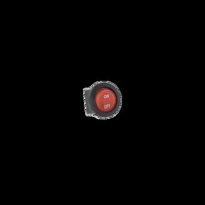 Interruptor rojo ON/OFF