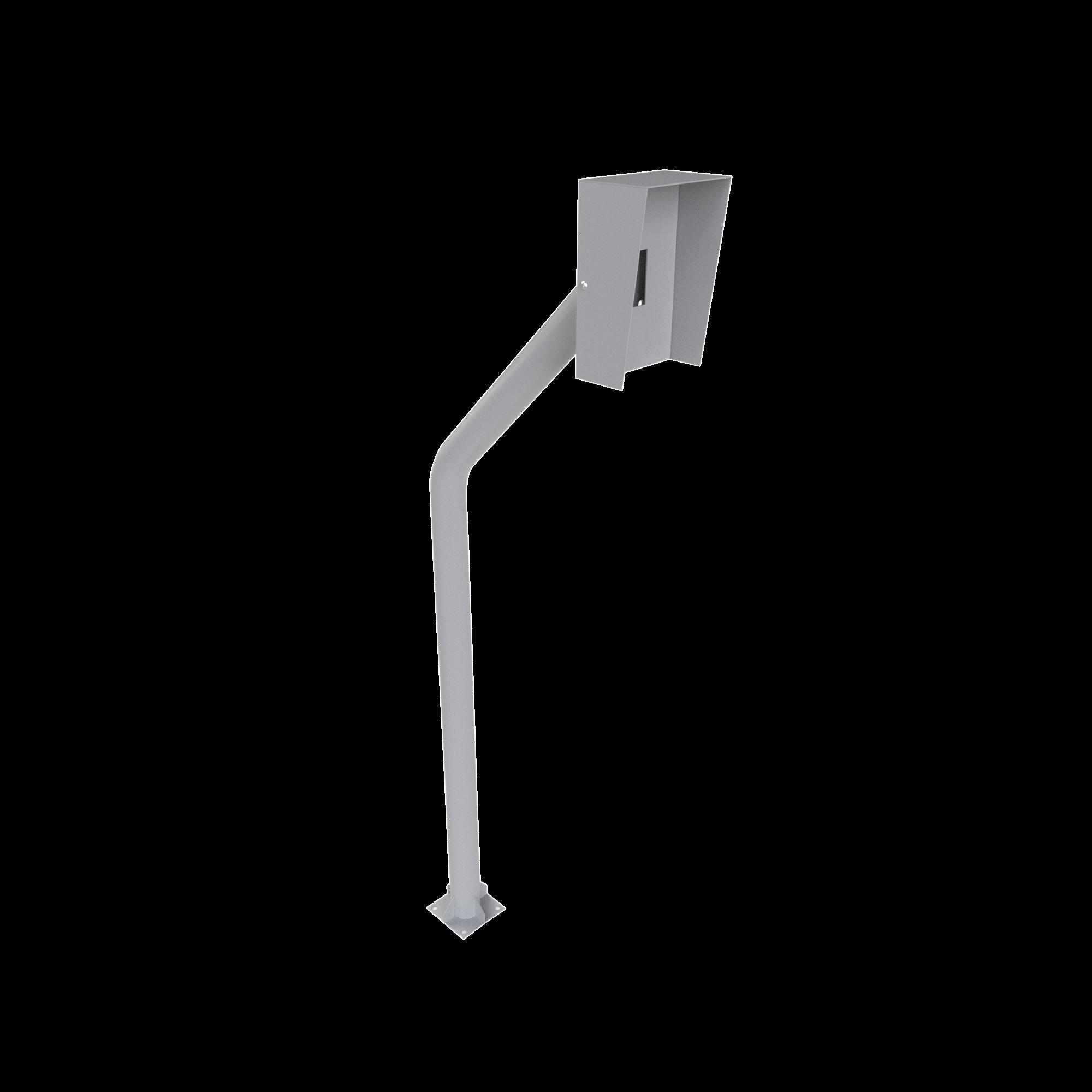 Base tipo tubular para instalación de Lectora RFID.