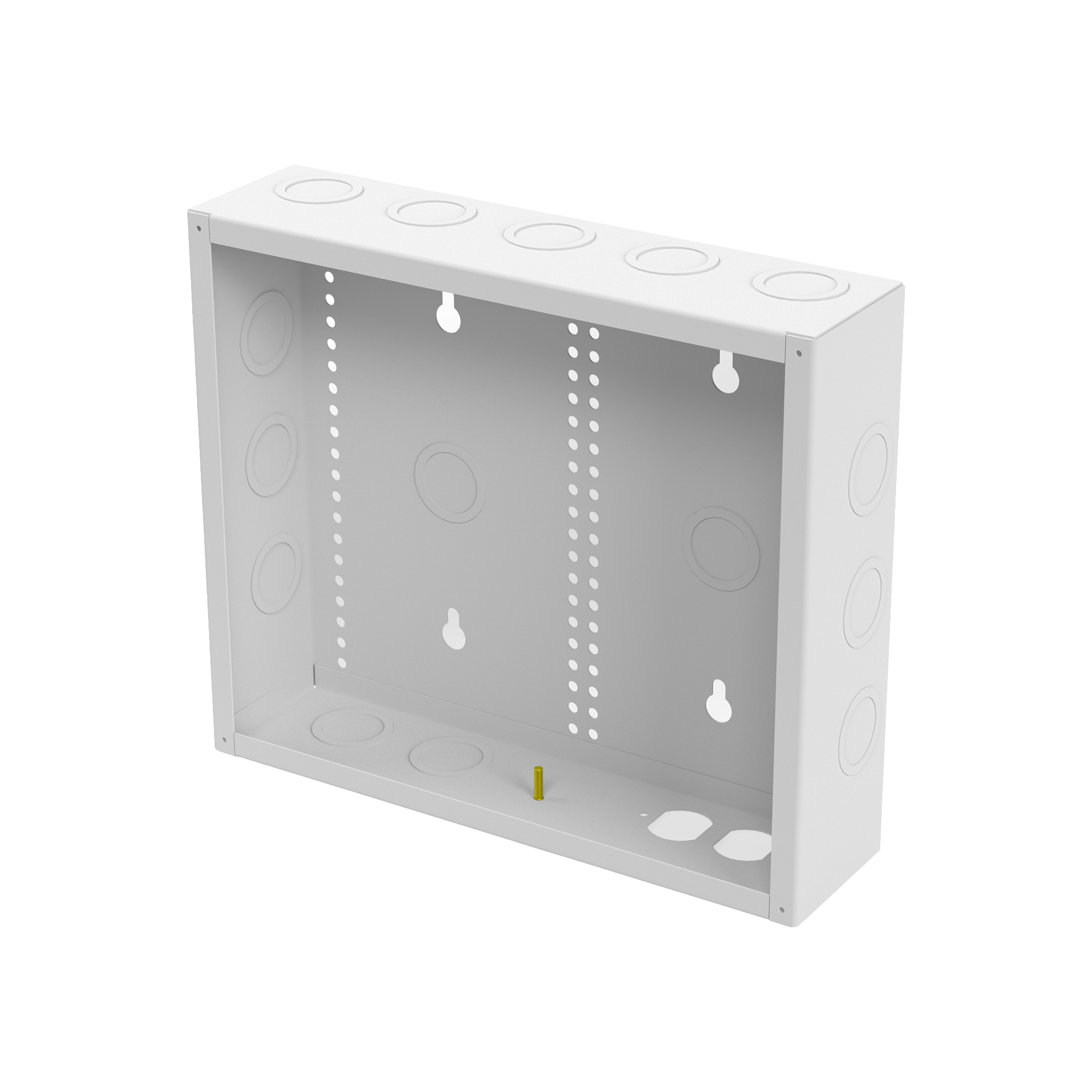 Gabinete de Medios de 12 Pulgadas para Empotrar en Pared (360 x 309 x 95 mm)