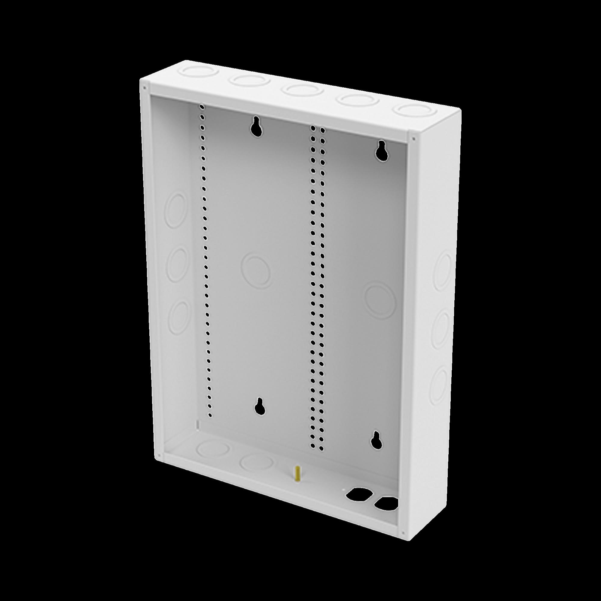 Gabinete de Medios de 19 Pulgadas para Empotrar en Pared (360 x 478 x 95 mm).