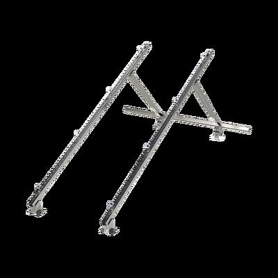 Montaje Universal de Acero para Interconexión de Módulos Fotovoltáicos en Techos de Lámina o Concreto (Ver Compatibilidad).