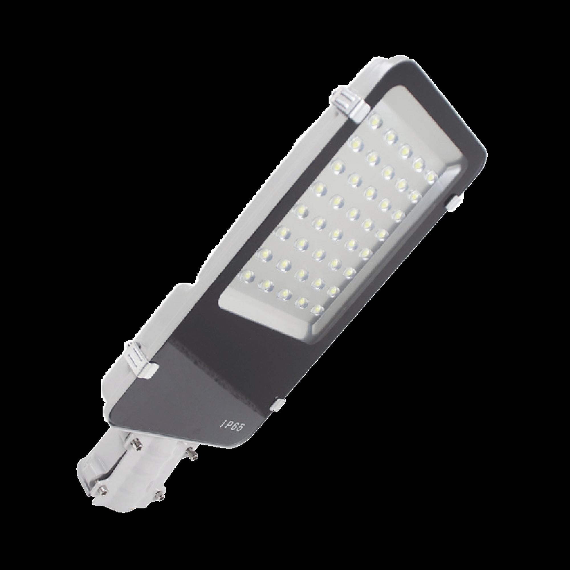 Luminaria LED 12/24 Vcc de 60 W para alumbrado público