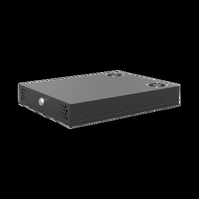 Gabinete Metálico de Seguridad para DVR/NVR. Tamaño Max. de DVR/NVR: 315 x 62 x 288 mm (An. x Al. x Prof.)