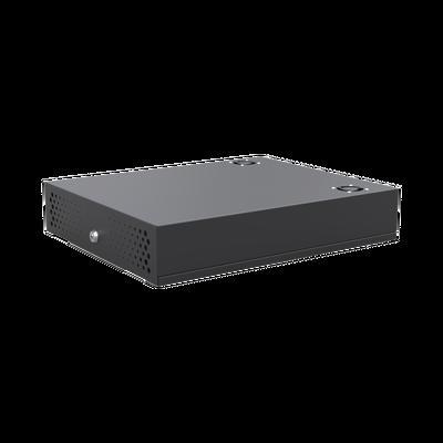 Gabinete Metálico para DVR/NVR. Tamaño Max. de DVR/NVR: 445 x 88 x 400mm (An.xAl.xProf.). Compatible con Fuente SLIM.