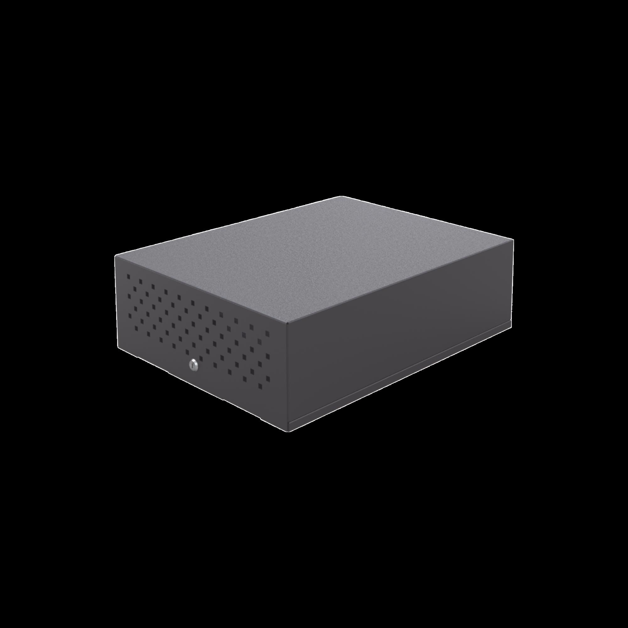 Gabinete de Seguridad para DVR/NVR. Tamaño Extra Grande (ver dimensiones de equipo compatible).