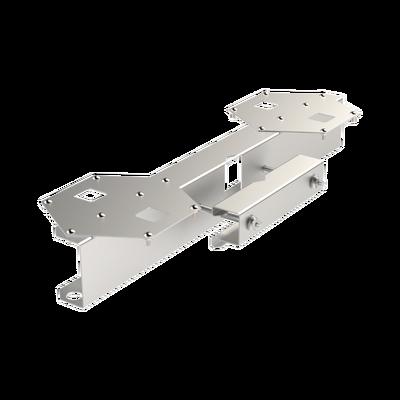 "Base Doble para Lámpara de Obstrucción EI-GSLSE. Compatible con tubo hasta 1-1/4""."