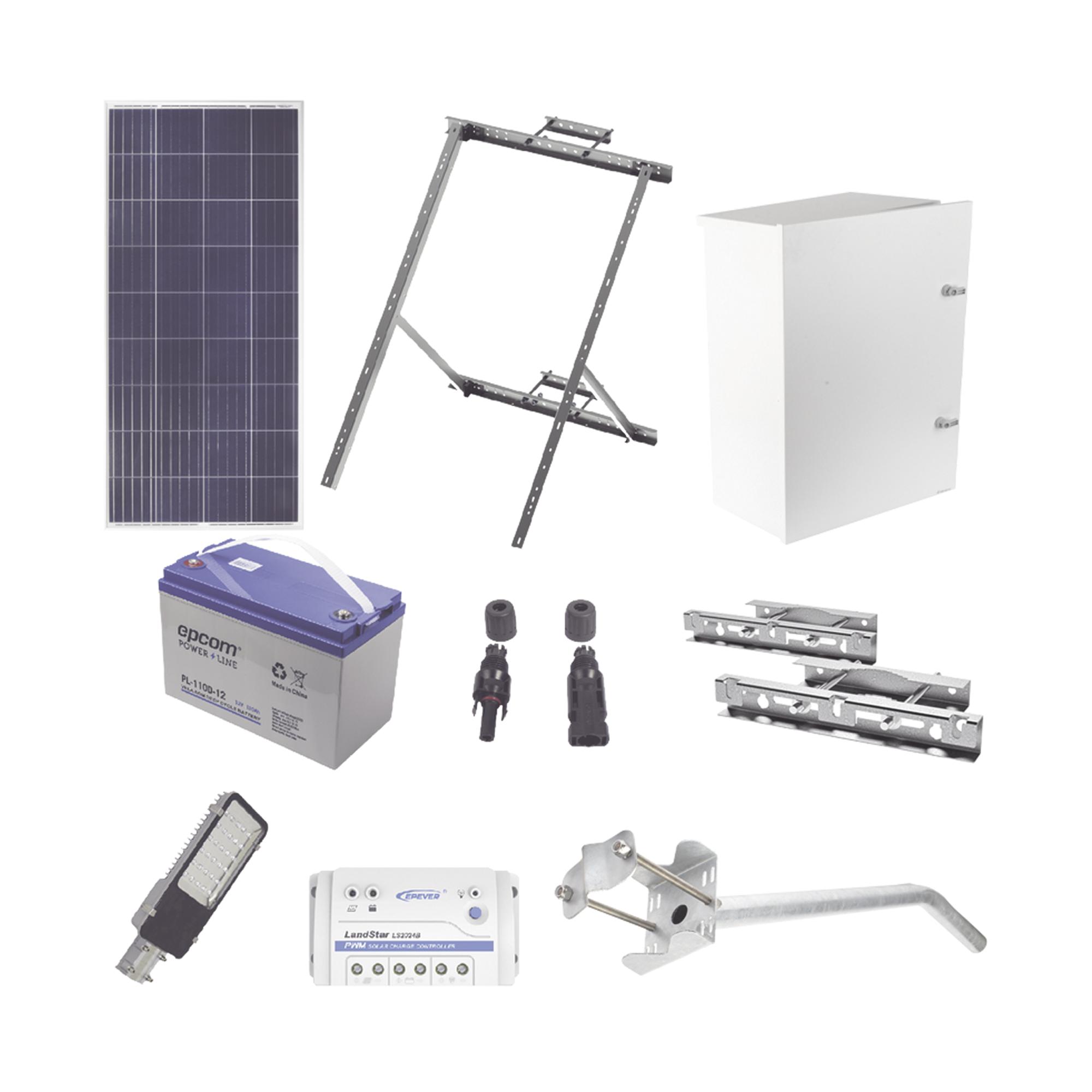 Kit de energía solar para alumbrado de 30 W