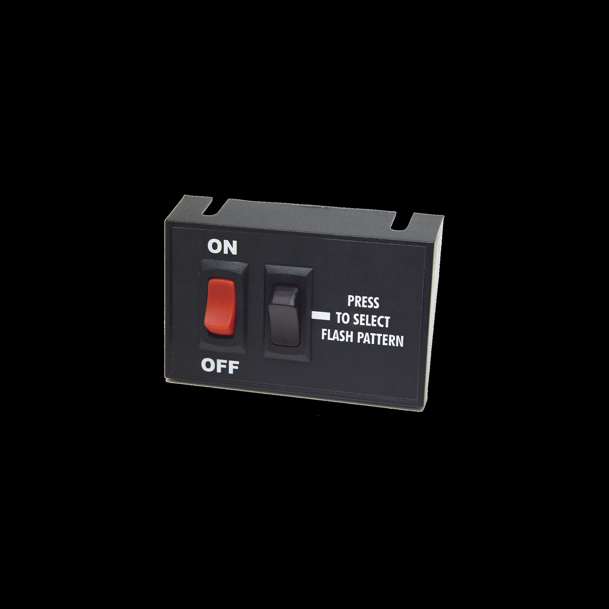 Switch Universal de Encendido/Apagado y control de patrones de destello