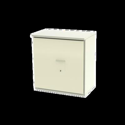 Gabinete de Lámina Galvanizada para  Baterías (Hasta 9 Baterías PL110D12) y Equipo de Comunicación.