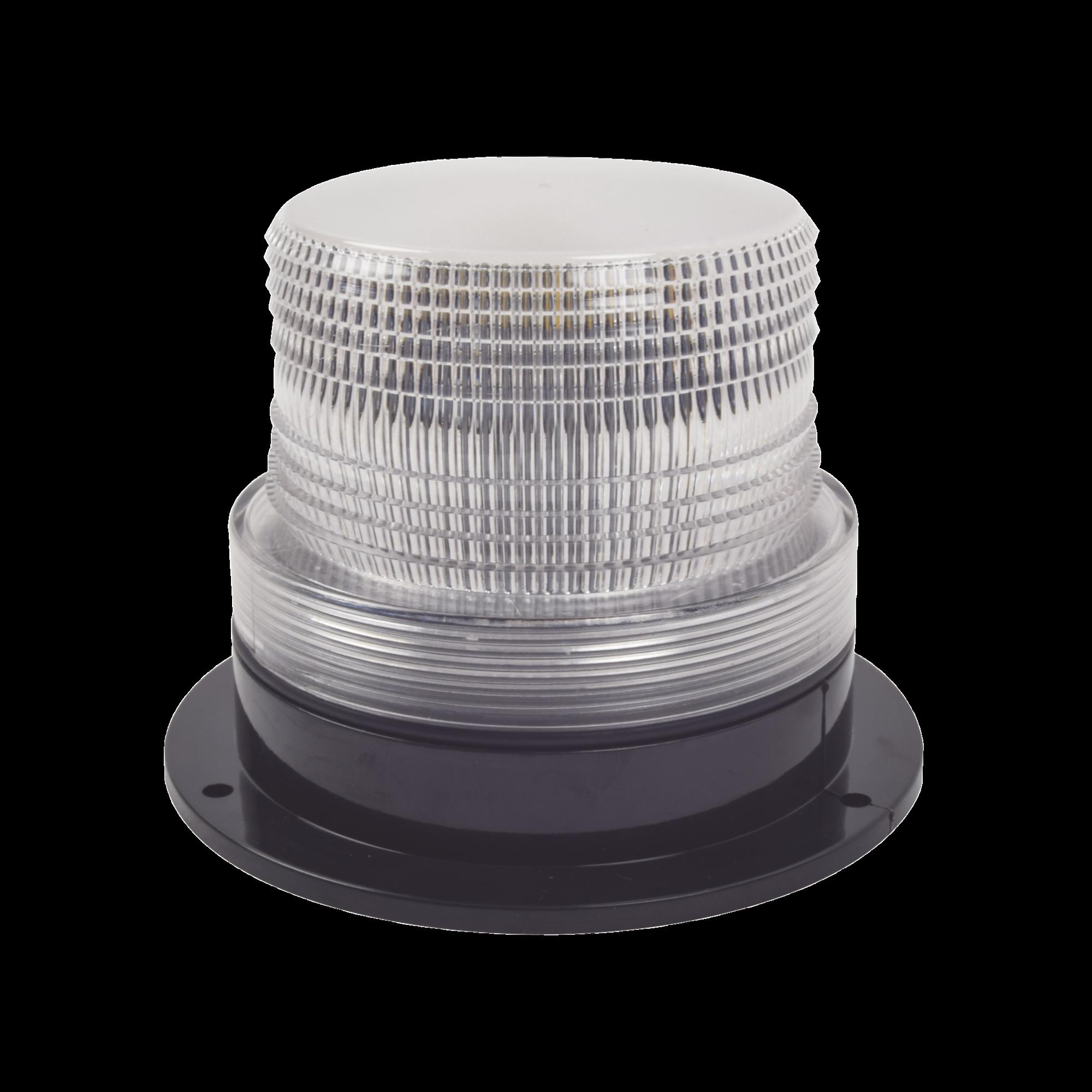 Burbuja brillante con 8 LEDs, color claro, domo claro