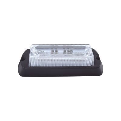 Luz Auxiliar Ultra Brillante X13 de 4 LEDs, Color Azul, con mica transparente