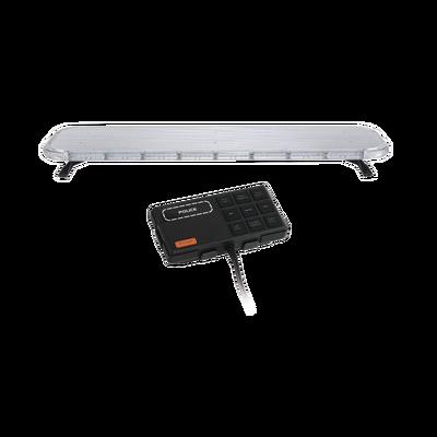 "Barra de luces LED de 47"" Rojo/Azul/Ambar , De 132 LEDs, Controlador Incluido, Ideal para Equipar Unidades de Seguridad Publica"
