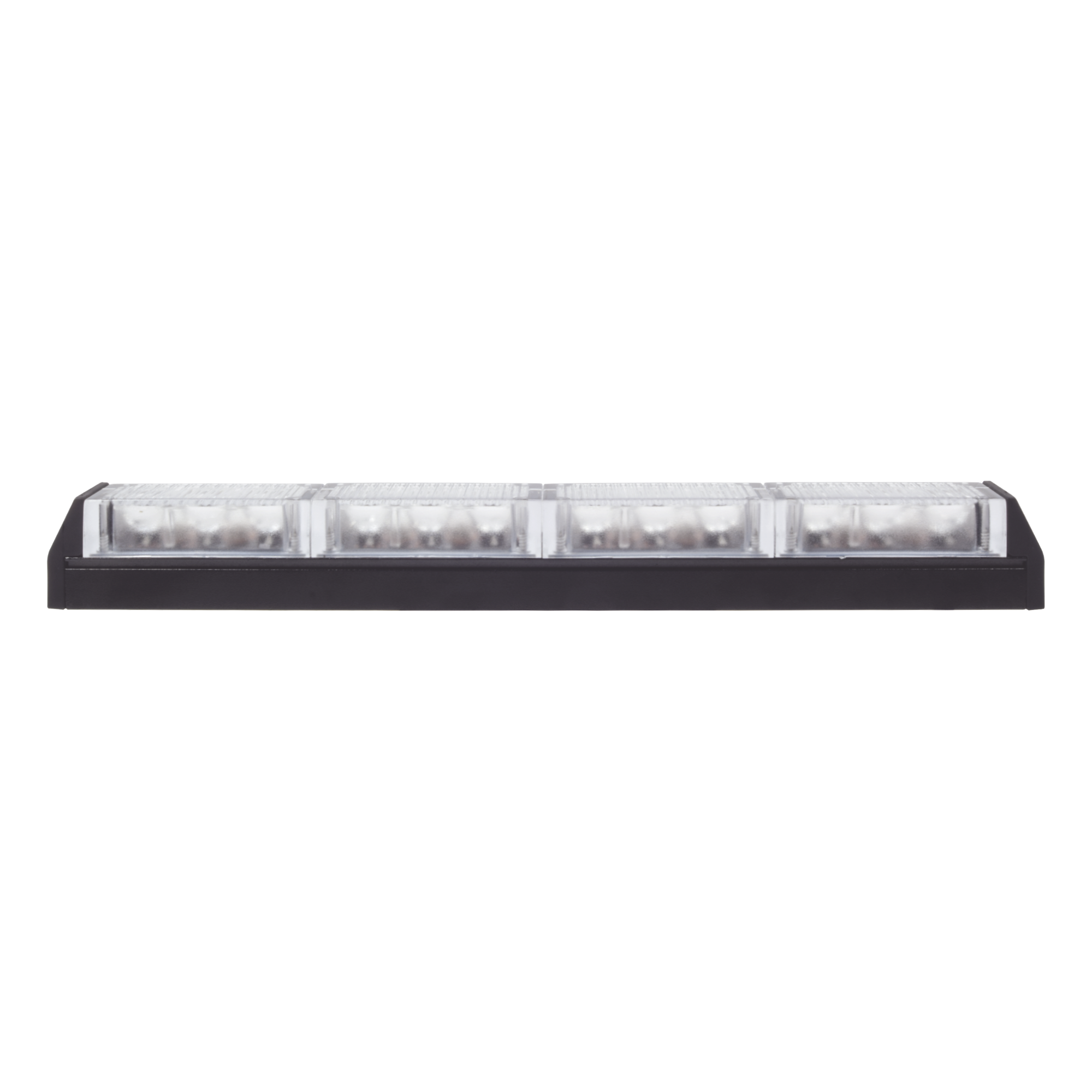 Barra de luz de advertencia con 4 modulos claros