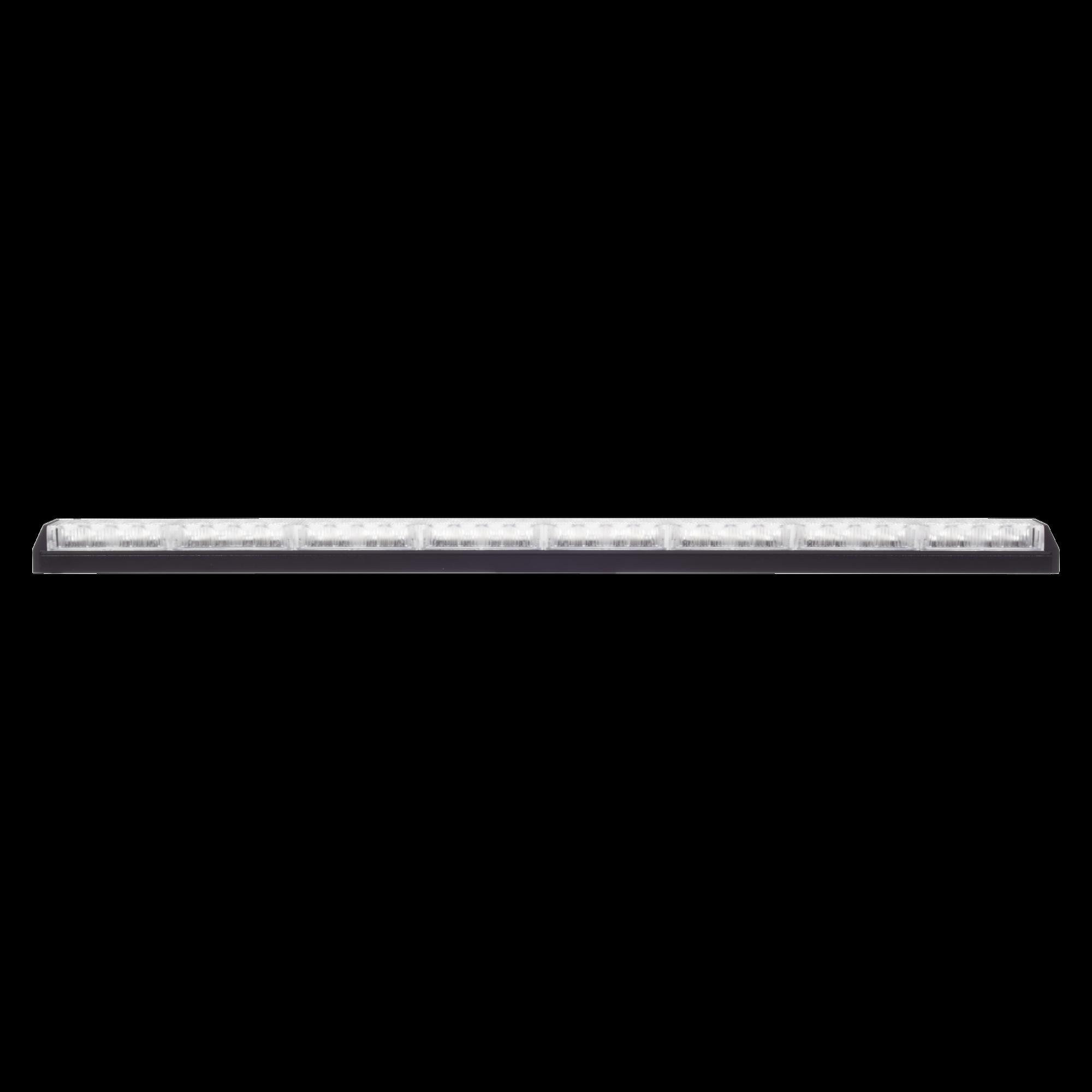 Barra de luz de advertencia de 8 módulos claros
