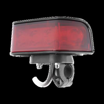Luz Frontal Ultra Brillante para motocicleta, color rojo