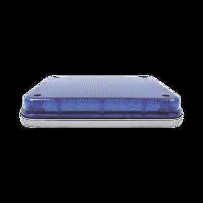 """Luz de advertencia de 9x7"""", color azul"""