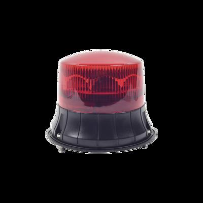 Burbuja LED giratoria color rojo, 9 LEDs, montaje permanente