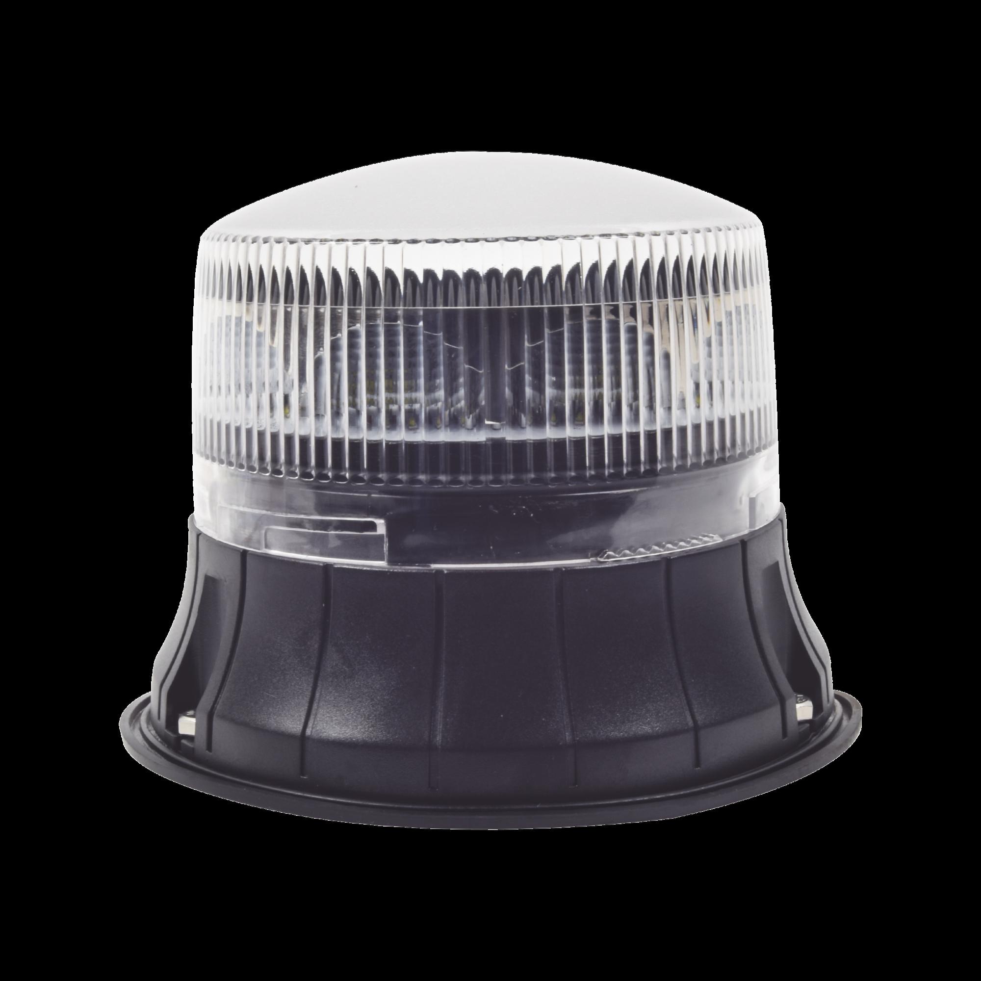 Burbuja LED giratoria de color claro, 9 LEDS, montaje permanente