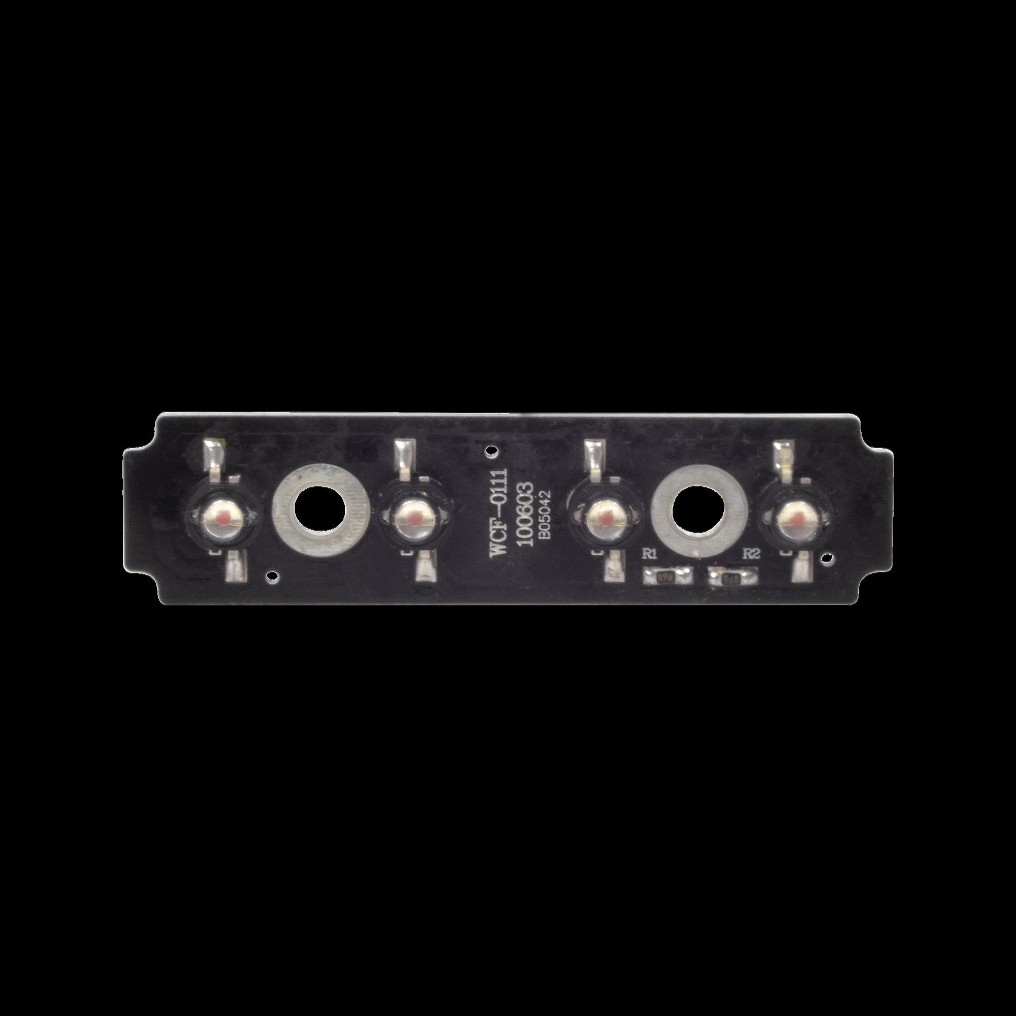 Tablilla de reemplazo con 4 LED ambar para XLL1088