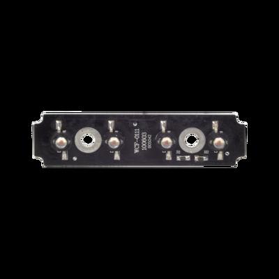 Tablilla de reemplazo con 4 LED ámbar para XLL1088