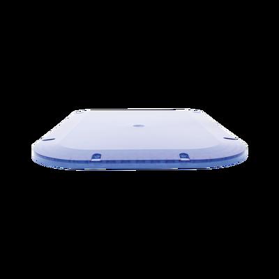 Domo lateral de reemplazo para barra de luces X67A, color azul