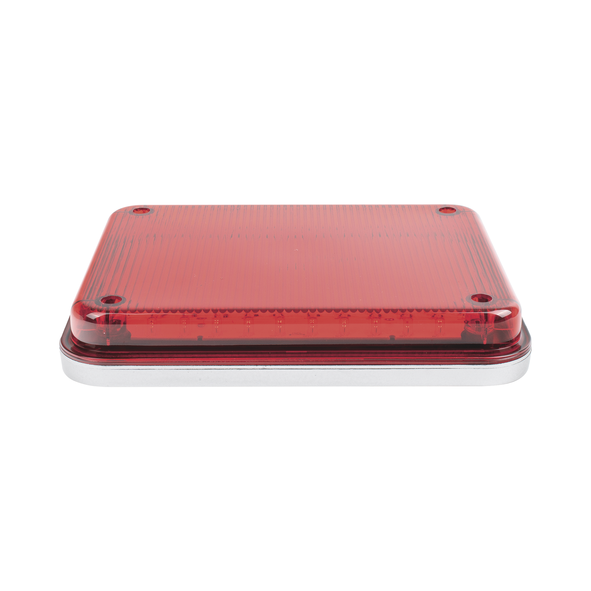 Luz de Advertencia de 9X7, Color Rojo