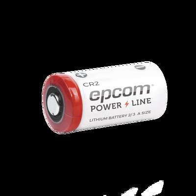 Batería de litio CR2; 3.0 V, 0.850 Ah ( Batería no recargable )
