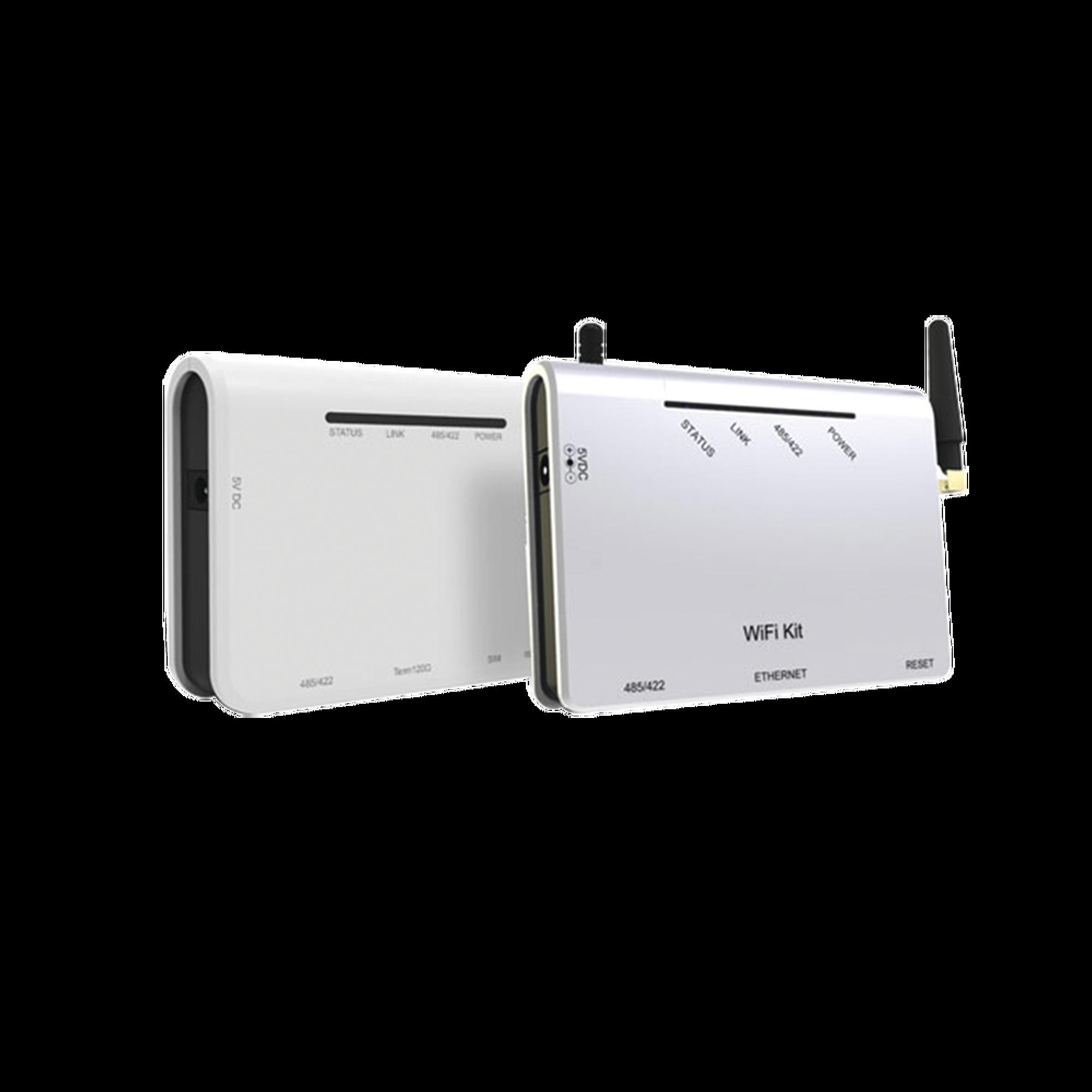 Monitoreo WiFi para inversores de interconexión a la red eléctrica serie EPIG. Es una puerta de enlace para recibir la señal del inversor y enviarlo a la web.