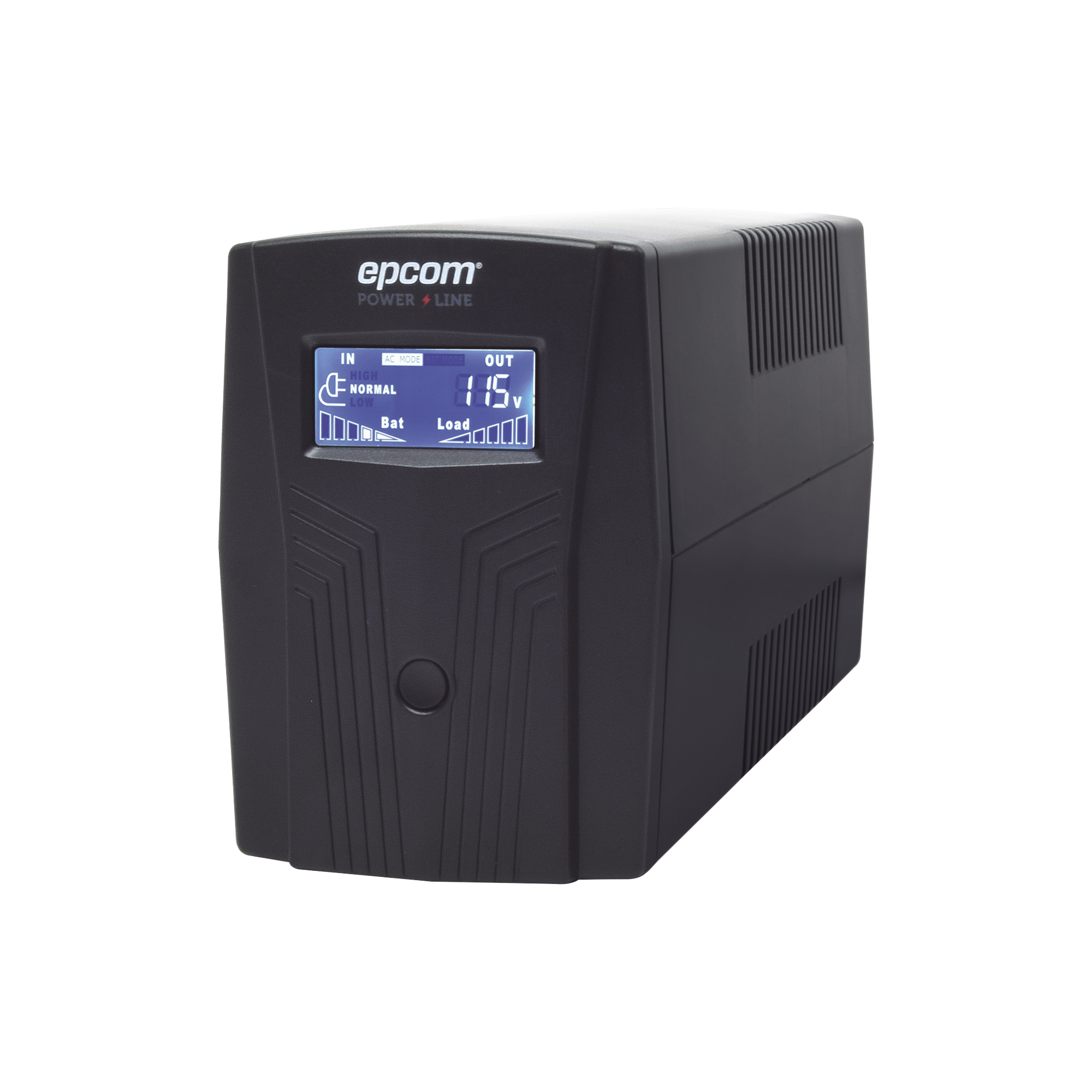 UPS de 850VA/510W / Topologia Linea Interactiva / Entrada y Salida 120 Vca / Regulador de Voltaje AVR 80-150 Vca / Clavija NEMA 5-15P / 6 Tomas NEMA 5-15R