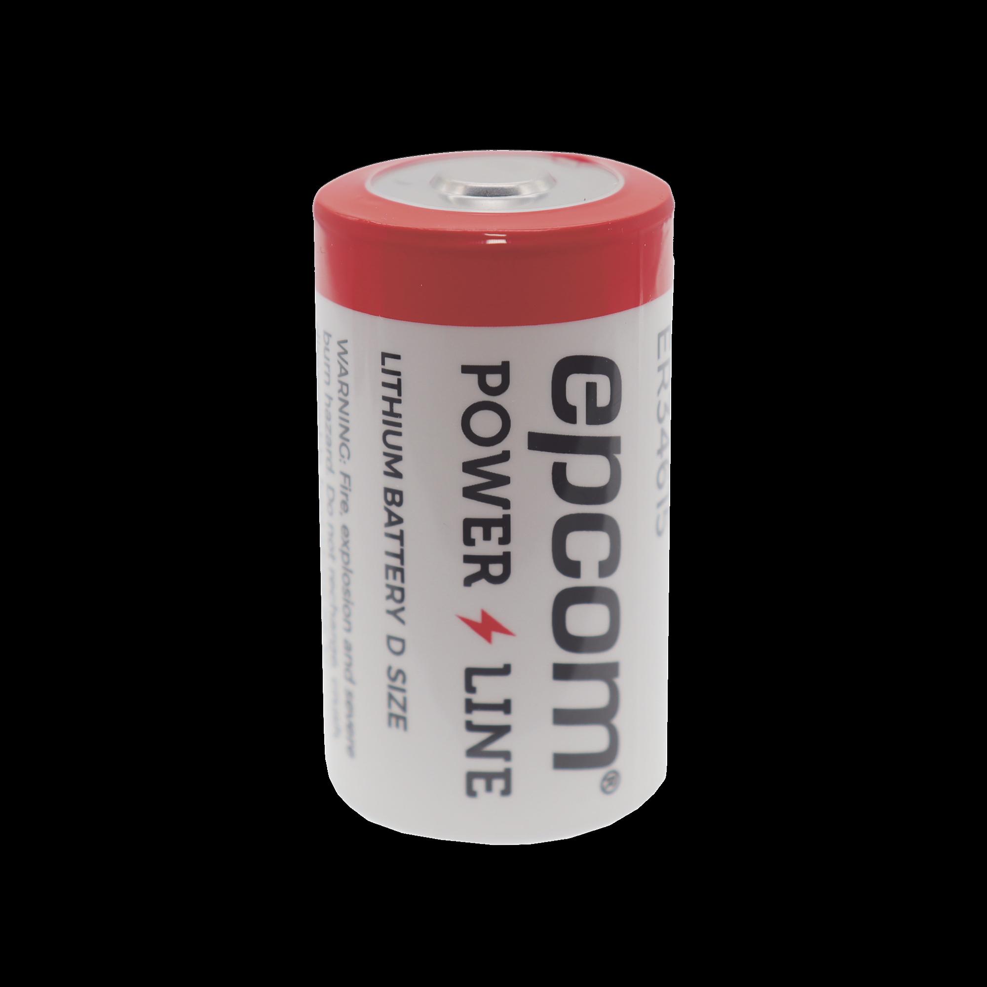 Bateria de 3.6V a 19Ah Li-SOCI2 Tamaño D ( Batería no recargable )