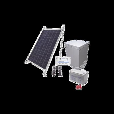 Kit de energía solar para congelador de 100 L de aplicaciones aisladas de la red eléctrica