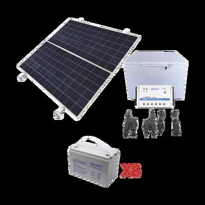 Kit de energía solar para congelador de 250 L de aplicaciones aisladas de la red eléctrica