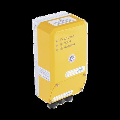 Controlador Universal  Solar  para Bombas CA, de 0.75HP - 1.0HP monofásica y hasta 1.5HP en trifásica
