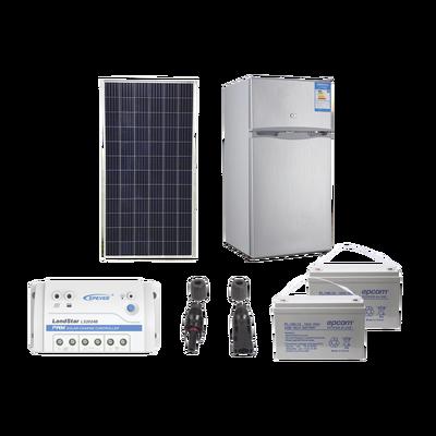 Kit de energía solar para refrigerador de 105 L de aplicaciones aisladas de la red eléctrica