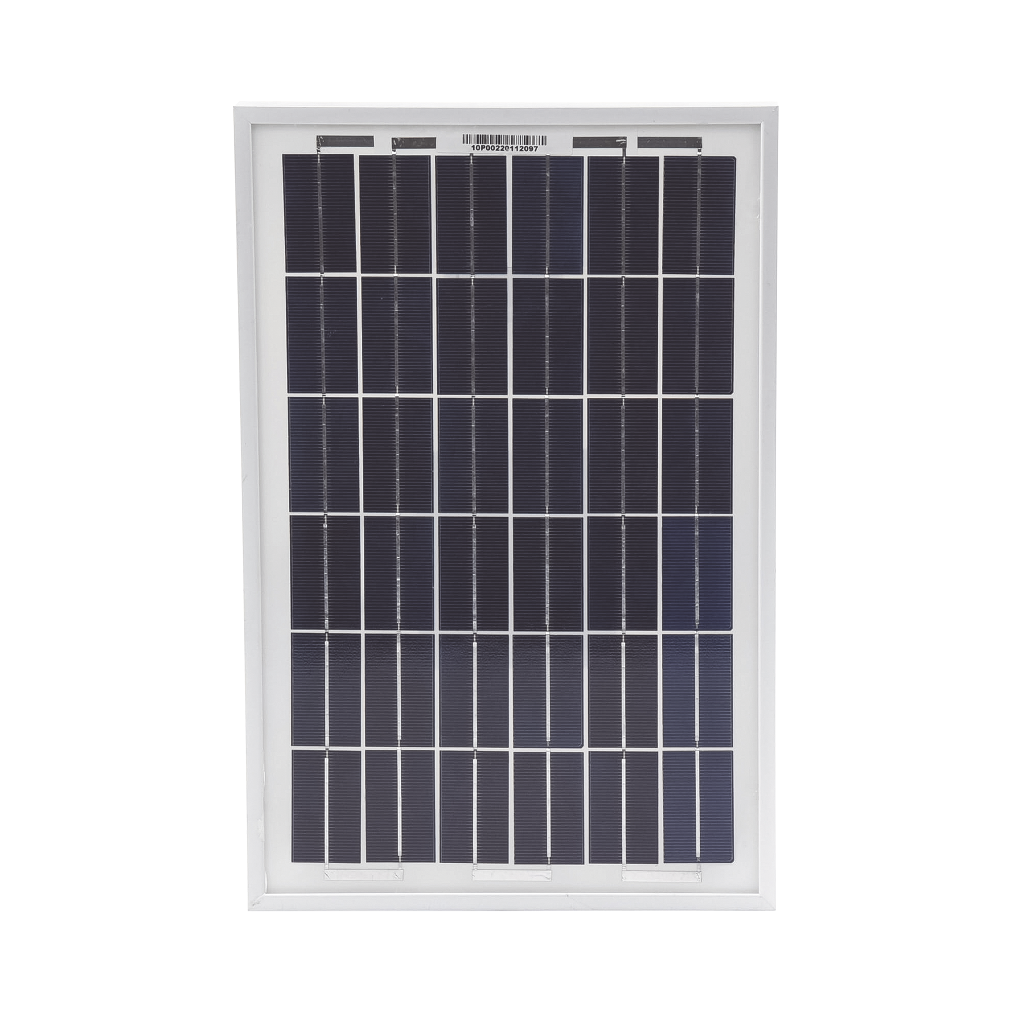 Módulo Fotovoltaico Policristalino 10 W 12 Vcd