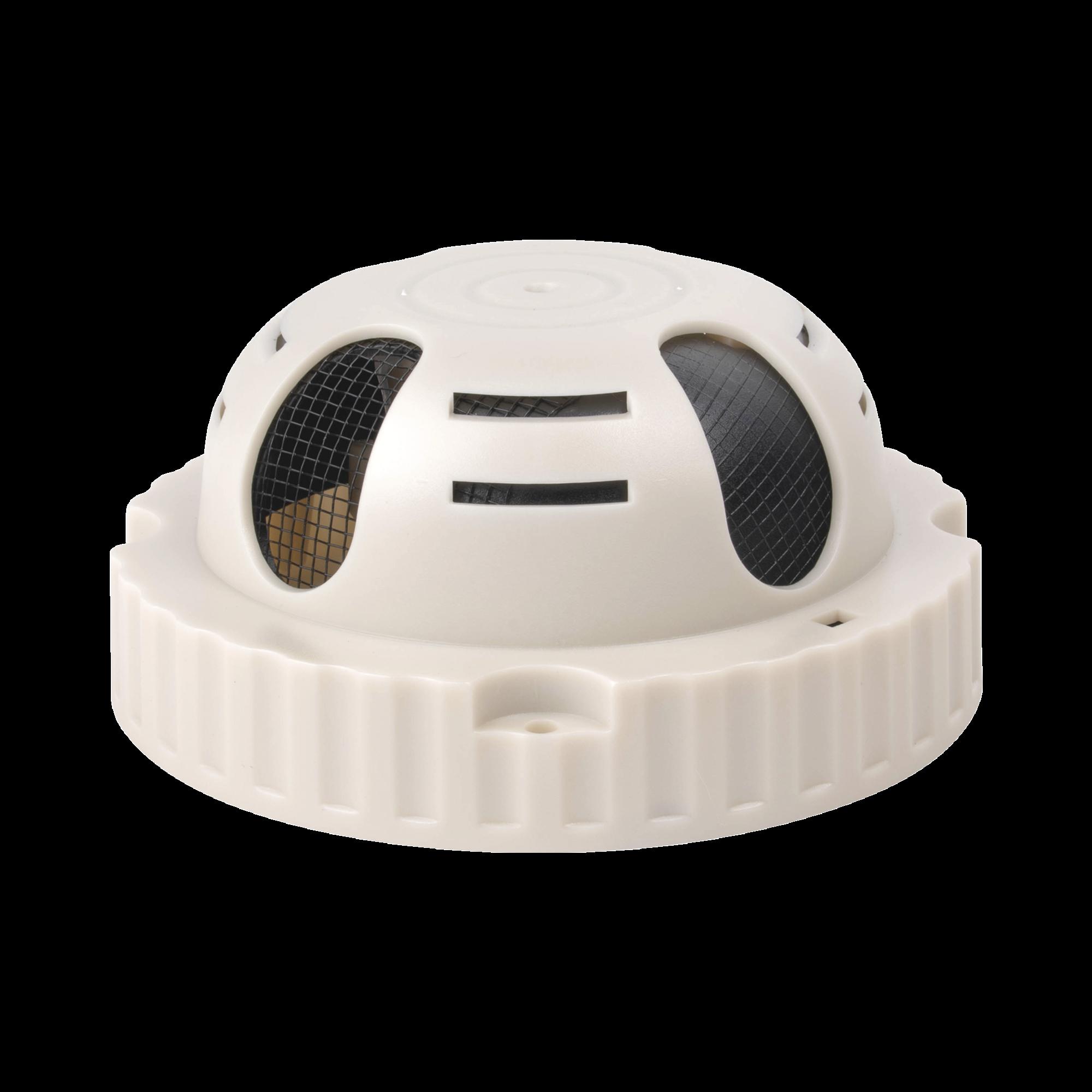 Micrófono omnidireccional, en sensor de humo, alta fidelidad, con distancia de recepción de 10-100 metros cuadrados