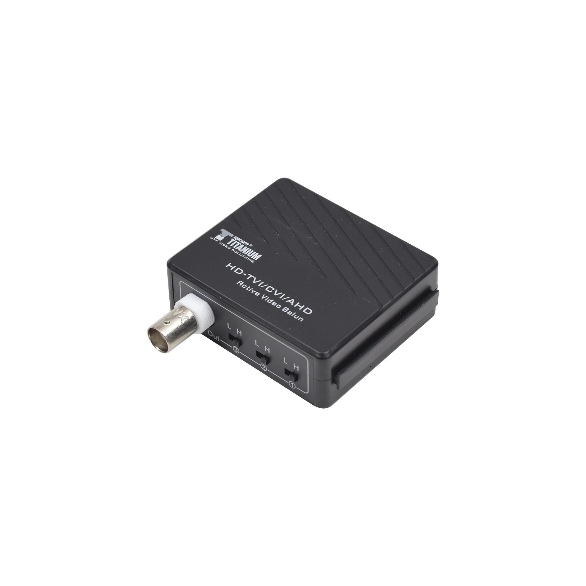 Receptor de Video Activo TurboHD HD-TVI / 400 Metros / Compatible 2/1 Megapixel