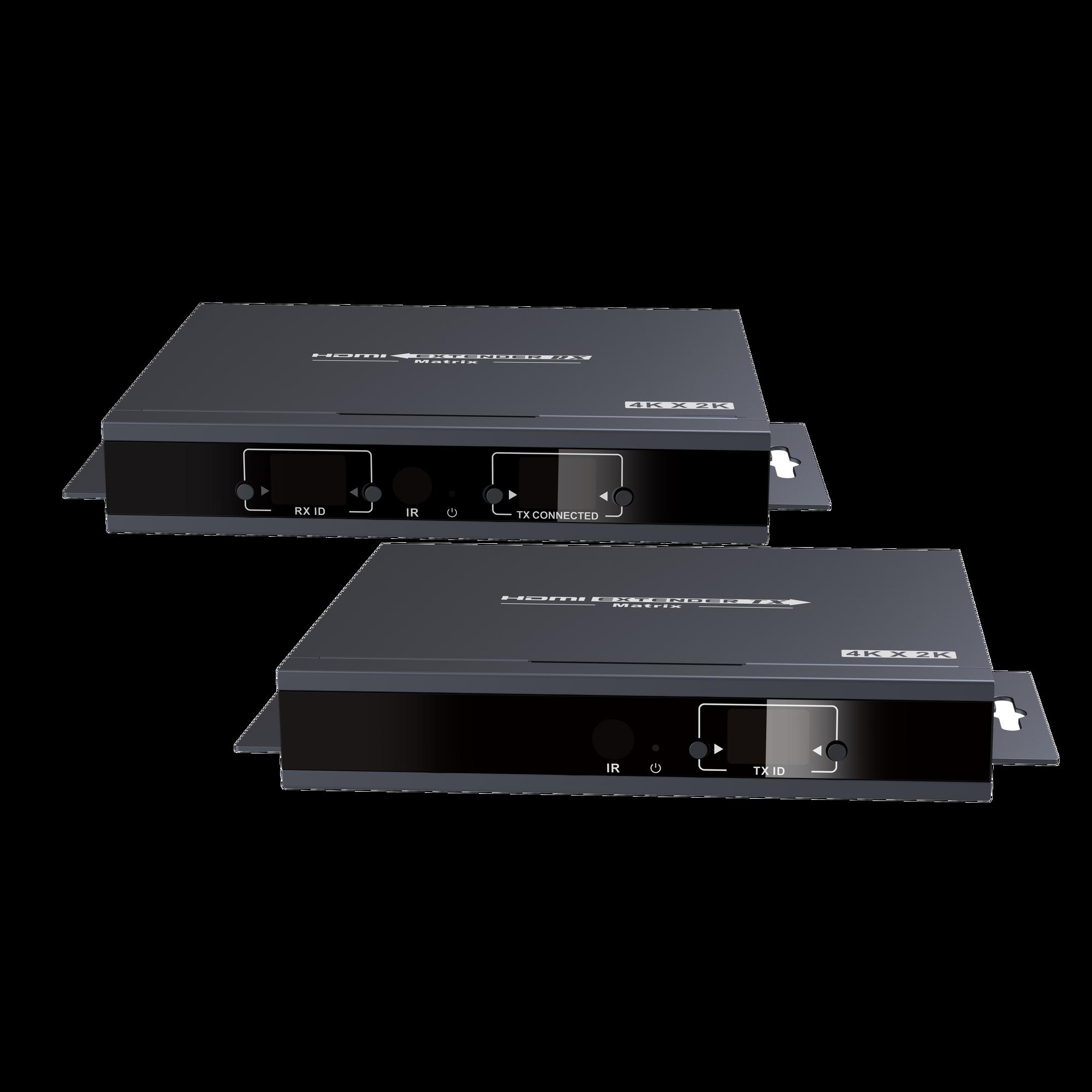 Kit extensor matricial 4K x 2K @ 30 Hz sobre Cat5/6 a 120 /150 metros
