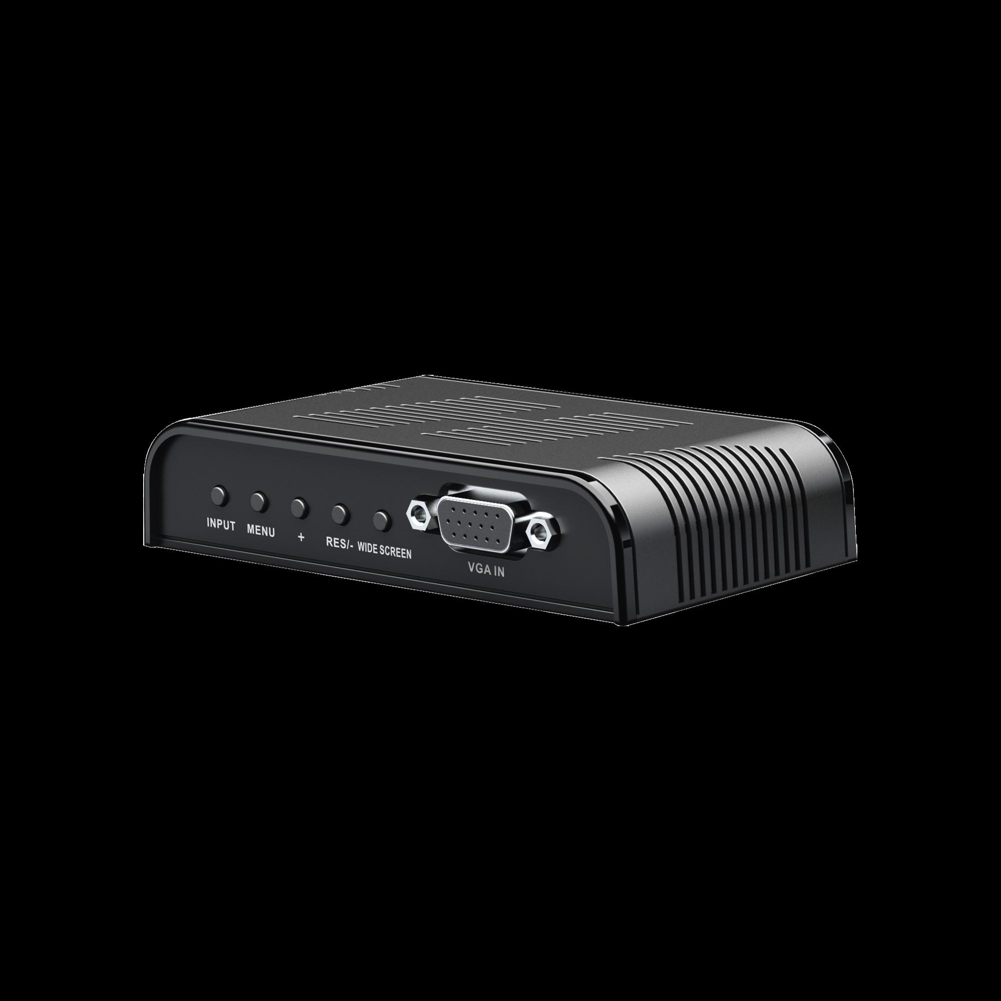 Convertidor de S-VIDEO, BNC, VGA a VGA