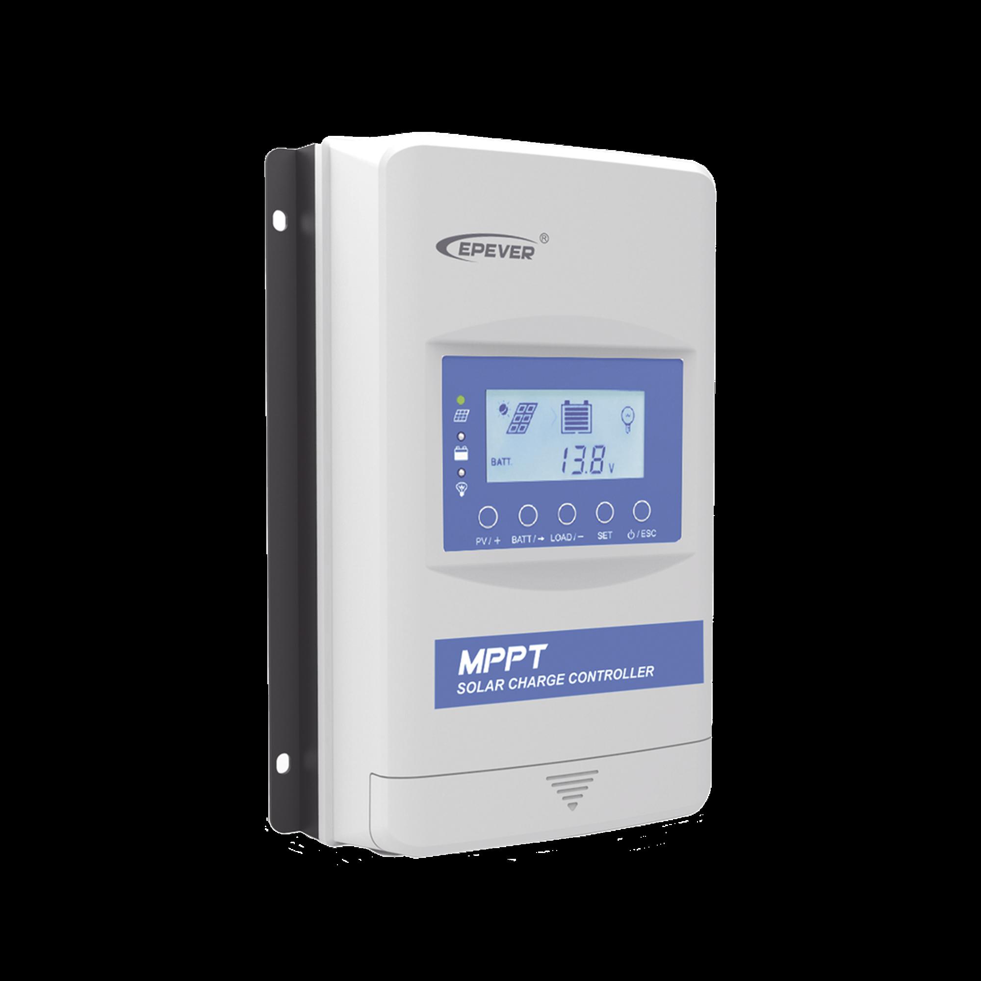Controlador Solar MPPT 40A Programado p/ Bateria de Litio en sistema a 12V