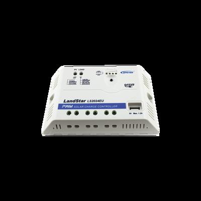 Controlador Solar PWM 12/24 V 20 A, Salida USB