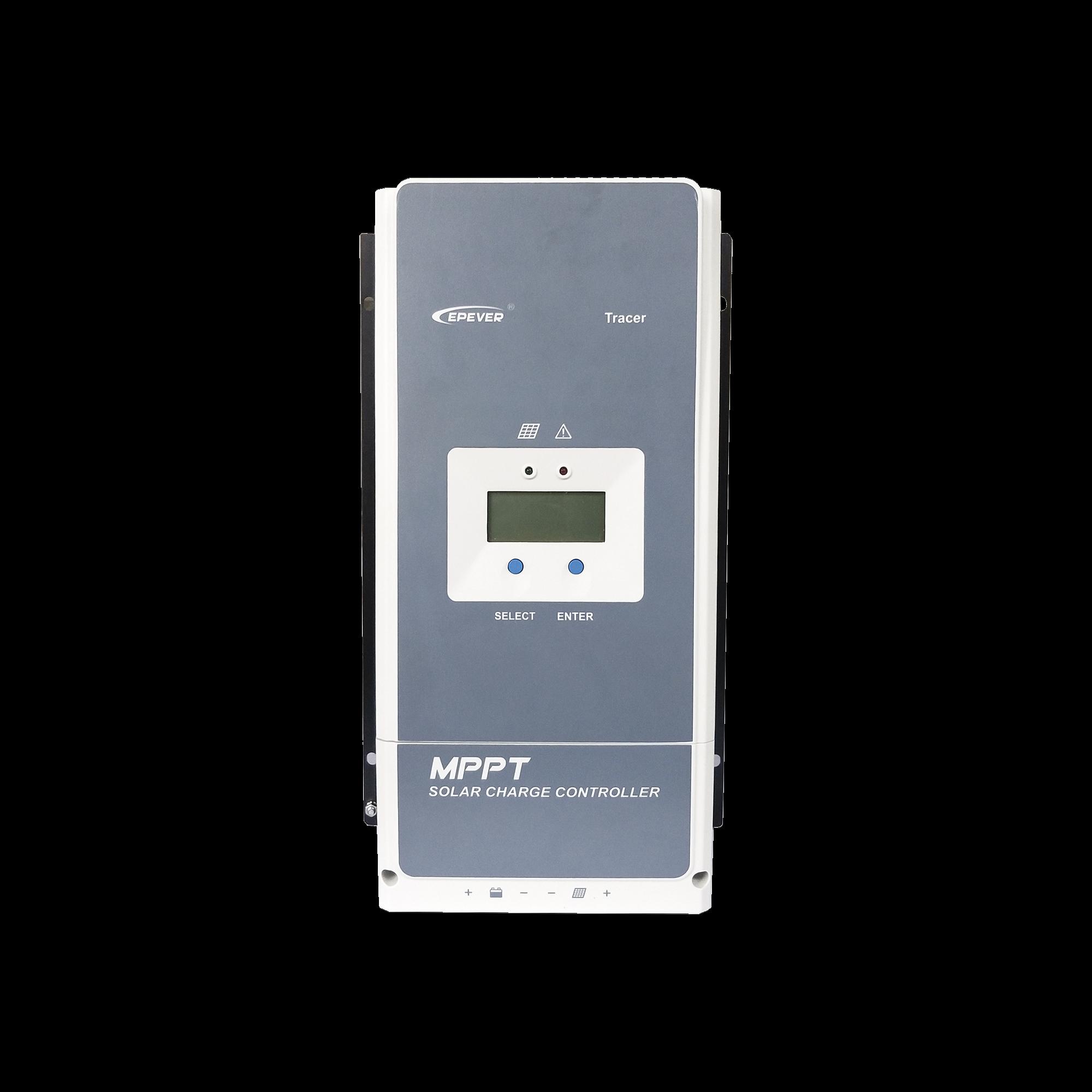Controlador Solar MPPT 100A 12/24/36/48V, Máximo Voltaje de Circuito Abierto Voc 150Vcd, Configurable para Baterías de Litio