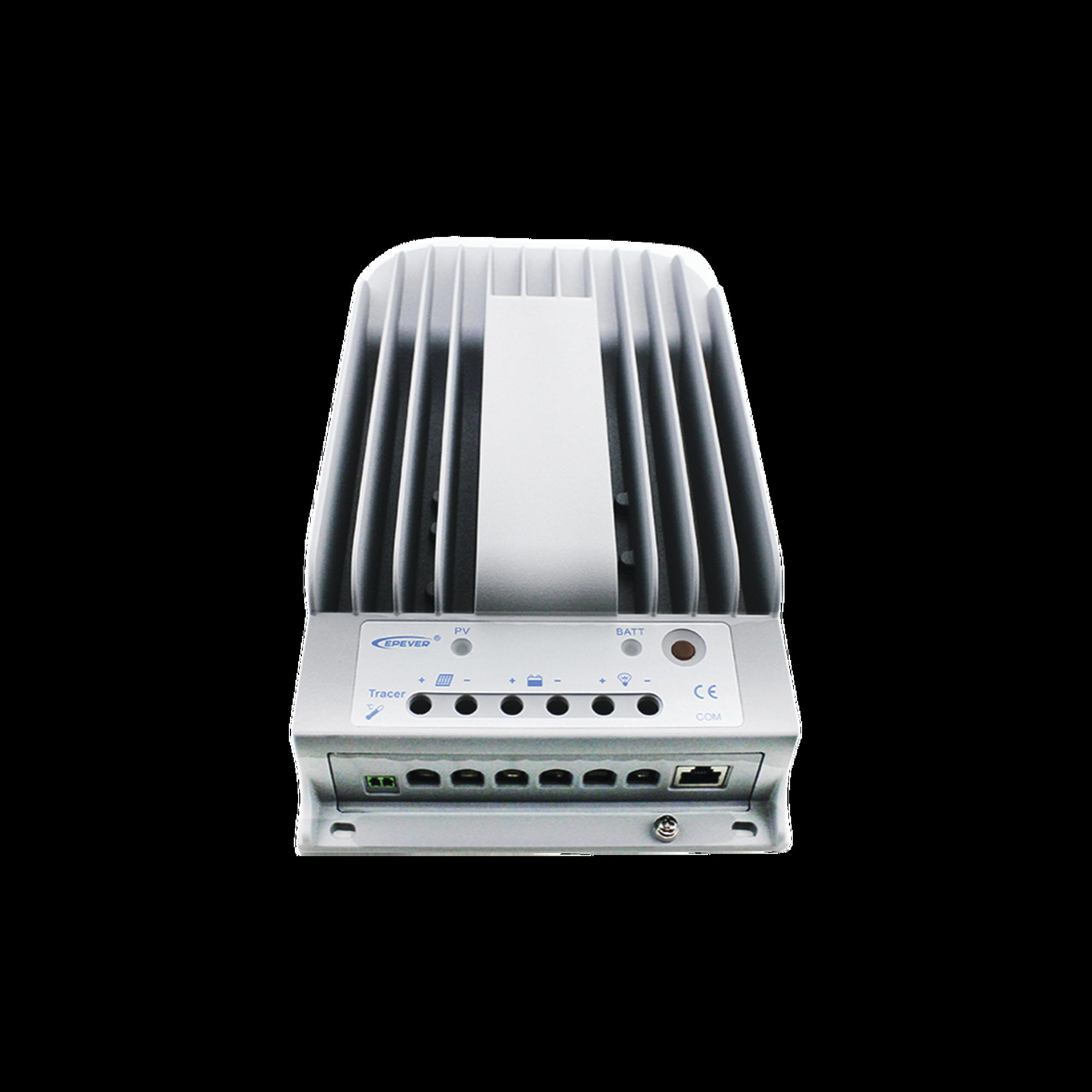 Controlador Solar  MPPT  30A 12/24V, Maximo Voltaje de Circuito Abierto Voc 150Vcd