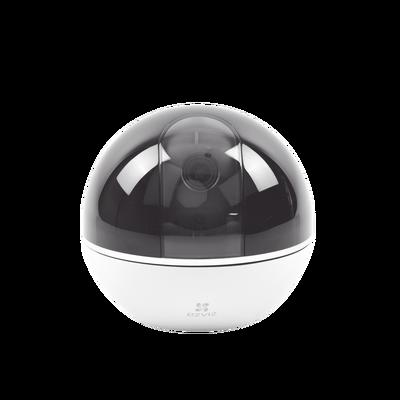 Mini Cámara IP PT 2 Megapíxel / Wi-Fi / Movimiento 360° / Seguimiento Inteligente / Audio de Dos Vías / Ranura para Memoria  / Uso en Interior
