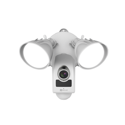 Cámara IP 2 Megapixeles / Lente 2.8 mm / Luz Ultrabrillante / Grabación en la Nube / Audio de dos vías / Sirena Integrada / Sensor PIR / Micro SD / IP65 / H.264