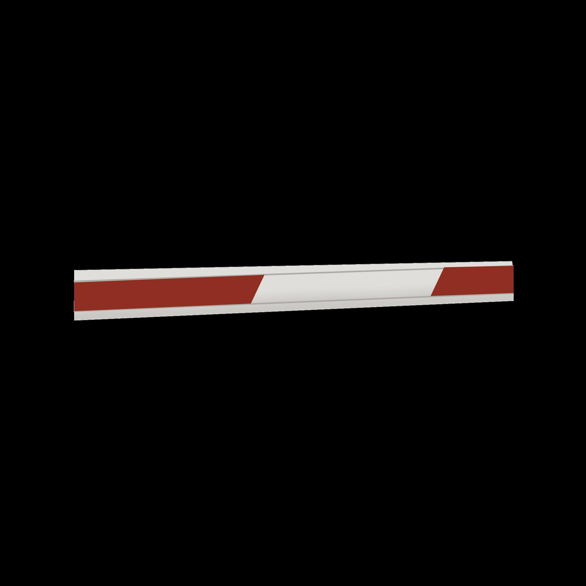 Brazo Rectangular de 7 mts para barrera FAAC 640