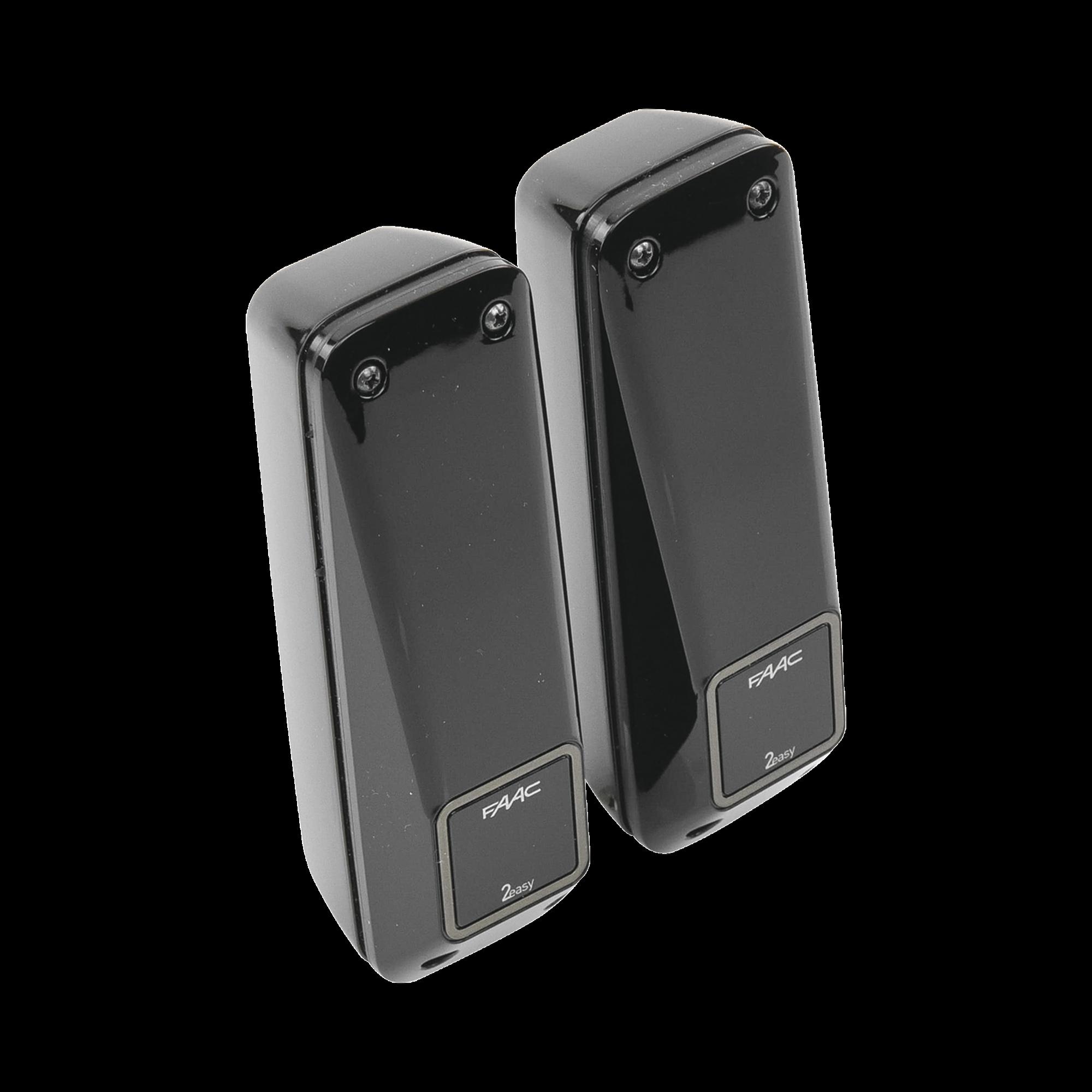 Fotocelda infrarroja XP20B (transmisor con receptor) / Conexión en BUS 2easy / Alcance de hasta 20 metros / Uso en barreras y motores de acceso vehicular