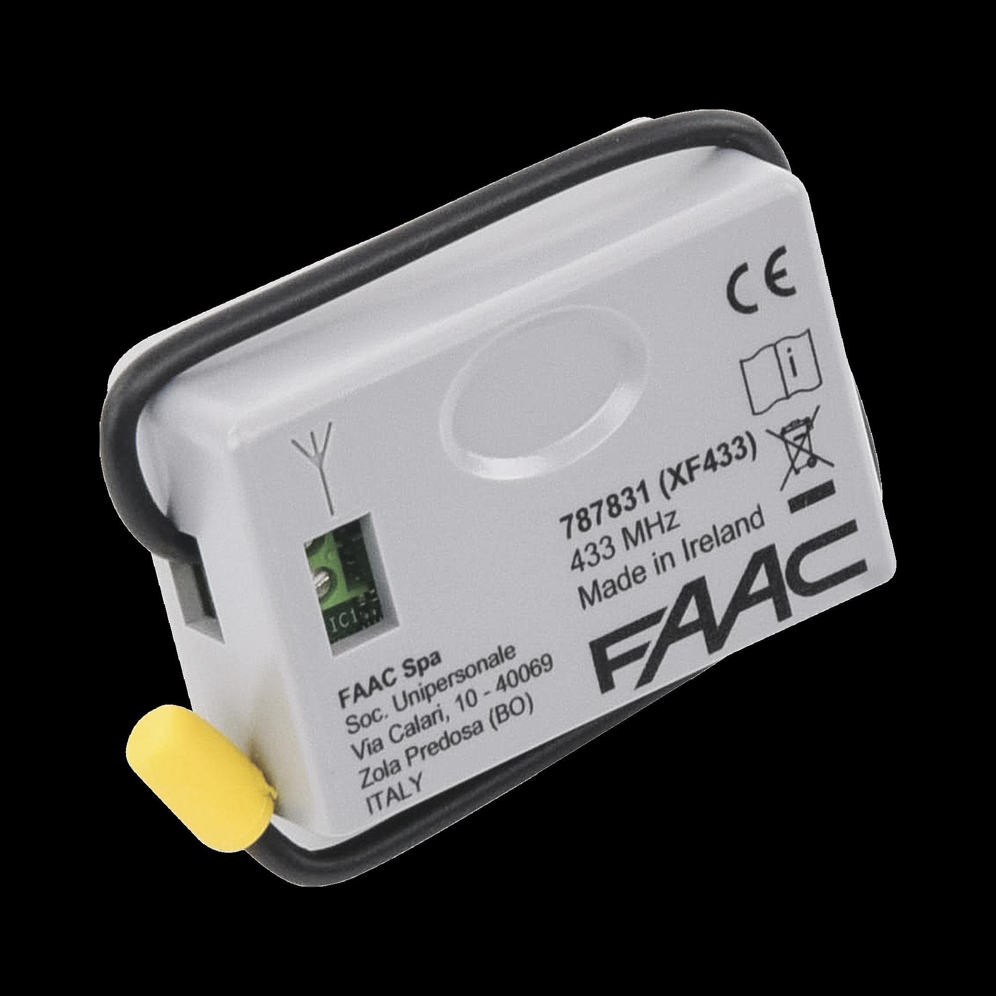 Receptor inalámbrico XF 433 para operador FAAC S418